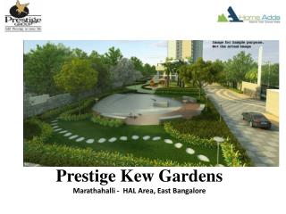 Prestige Pre launch Venture In East Bangalore