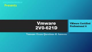 Pass4sure 2V0-621D Study Exam