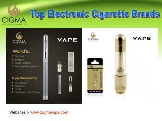 Benefits of the Top Electronic Cigarettes