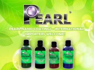 Pearl Super-Hydrophobic Nano Coatings - International Importers Welcome