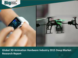 Global 3D Animation Hardware Industry 2015 Deep Market Research Report