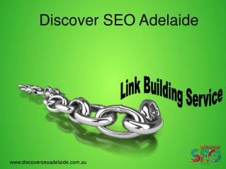 Link Building Service offer by discover SEO Adelaide