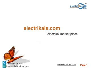 NORTH WEST electrical products | electrikals.com