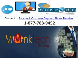 1-877-788-9452 Facebook Support |Best technical approach