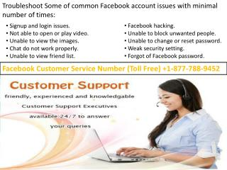1-877-788-9452 @ Facebook Support number |A quick way to solve customer queries