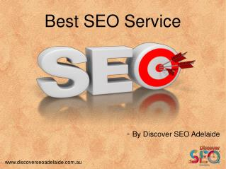 Best SEO Services offer by Discover SEO Adelaide