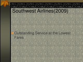 Southwest Airlines2009