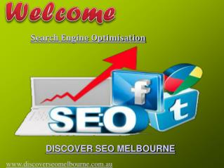 Search Engine Optimisation By Discover SEO Melbourne