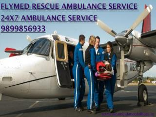 Get Instant ambulance service provider Delhi- FRAS