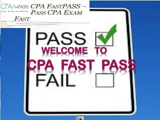 How to Pass CPA Exam