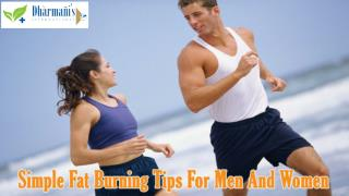 Simple Fat Burning Tips For Men And Women