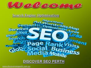 Search Engine Optimisation Services offer by Discover SEO Perth