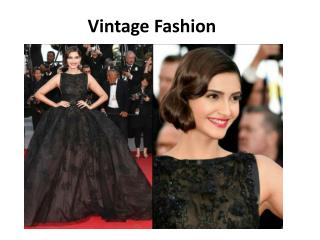 Vintage Fashion | Fashion Tips for Women