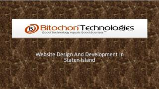Website Design And Development In Staten Island