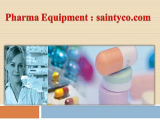 Pharma Equipment-saintyco.com