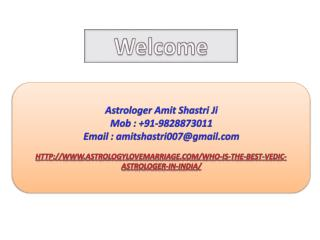 Who Is The Best Vedic Astrologer In India