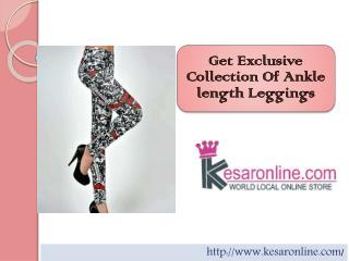 Ankle Length Leggings Online