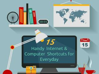 15 Handy Internet and Computer Shortcuts for Everyday