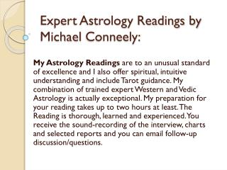 Vedic Astrology Reading