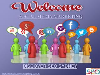 Social Media Marketing By Discover SEO Sydney