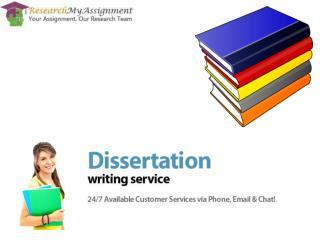 Dissertation Writing
