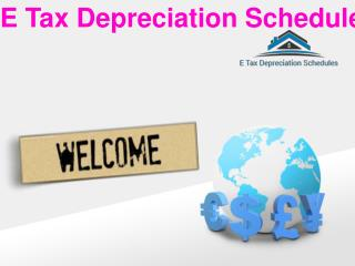 E Tax Depreciation Schedules For Quantity Surveyors