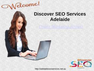 Online Marketing Services Adelaide SEO