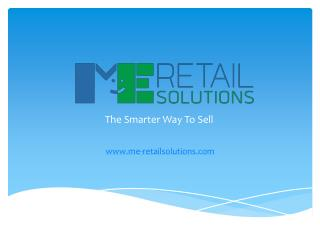 ME-Retail Solutions: E-Logistics, E-Inventory and Warehousing Services provider in Singapore