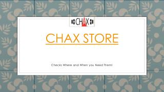 Chax store