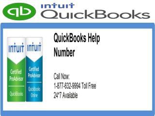 Need QuickBooks Help? Call QuickBooks  Helpline Number 1-877-632-9994 Tollfree USA & Canada