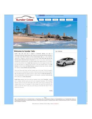 Sundar Cabs And Car Hire in Tirunelveli
