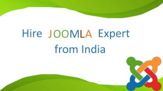 Hire Joomla Expert from India