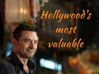Hollywood's most valuable