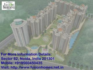 Fusion Homes- Special Payment Plan Call us  91 9560450435