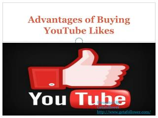 Advantages of Buying YouTube Likes