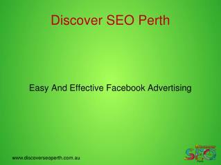 Facebook Advertising, facebook marketing, facebook advertising Perth