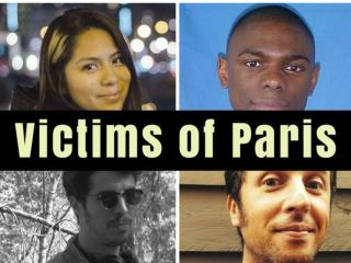 The victims of Paris