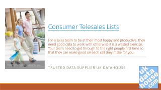 Consumer telesales Leads