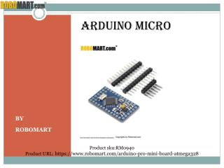 Buy Arduino micro