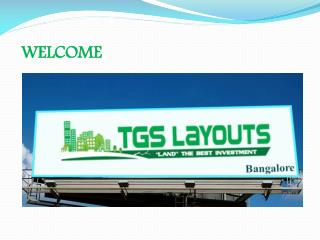 TGS Layouts Plots and Sites in Devanahalli