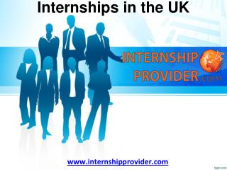 Why Go to the UK with Internship Provider?