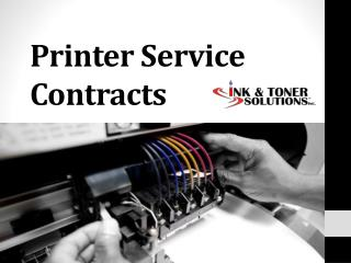 Printer Service Contracts