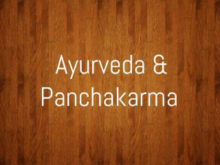 Ayurveda School Presentation