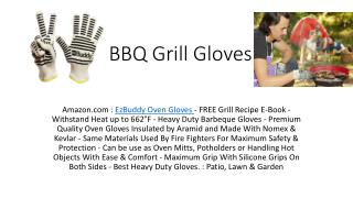 High Heat BBQ Gloves