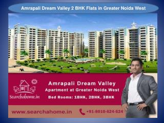 Amrapali Dream Valley 1, 2 & 3 BHK Flats for Sale