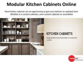 Modular Kitchen Cabinets Online