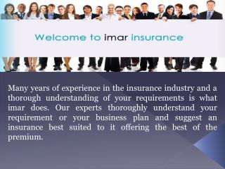 Get Electrician & Electrical Contractor Insurance from imar
