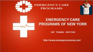 Emergency Care Programs || EMT Training Class