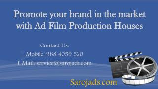 Ad Film Production Houses in India,bangalore,chennai,thamilnadu