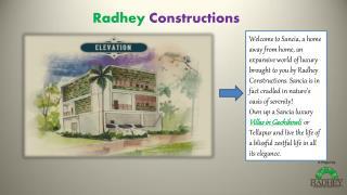 villas in gachibowli at radhey constructions